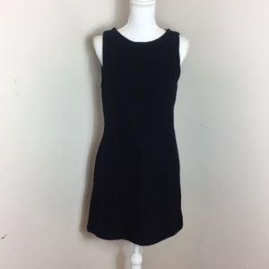 J.Crew Made in Italy Classic Black Wool Dress